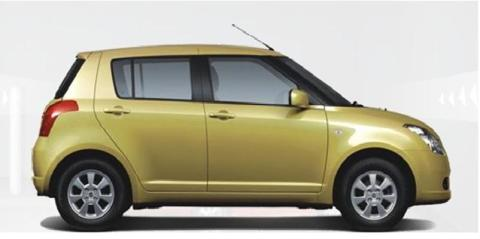 Suzuki Swift Iridium Gold