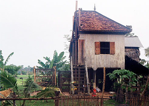 House Sawn in Half !