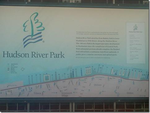 Hudson River Park Map