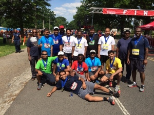 Garden State Cheetahs at Finish Line