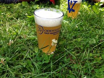 Beer at Oddyssey Marathon