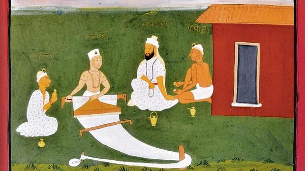Kabir was the son of muslim weavers.